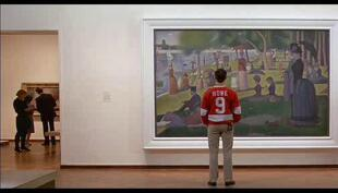 A Sunday Afternoon on the Island of La Grande Jatte painting by Georges Seurat in Ferris Bueller's Day Off