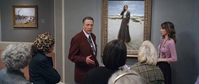 The Lonely Maiden painting by Jeremy Lipking in The Maiden Heist movie
