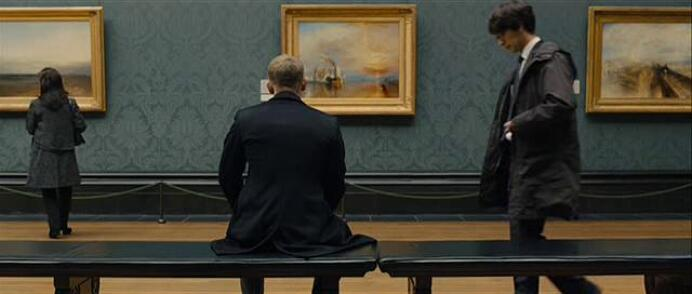 The Fighting Temeraire painting by William Turner in Skyfall movie