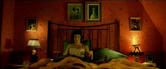 Fowl with Pearls painting by Michael Sowa in Amélie movie