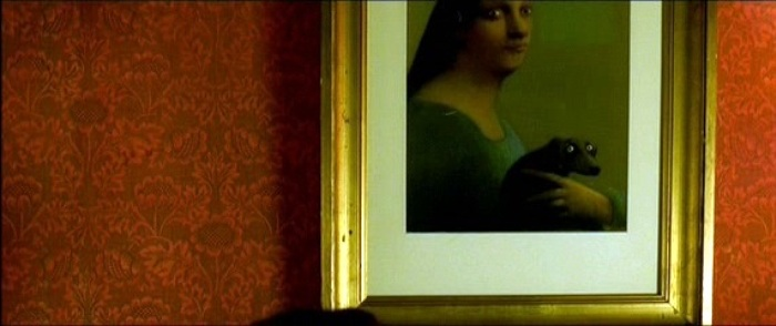 Herbert painting by Michael Sowa in Amélie movie