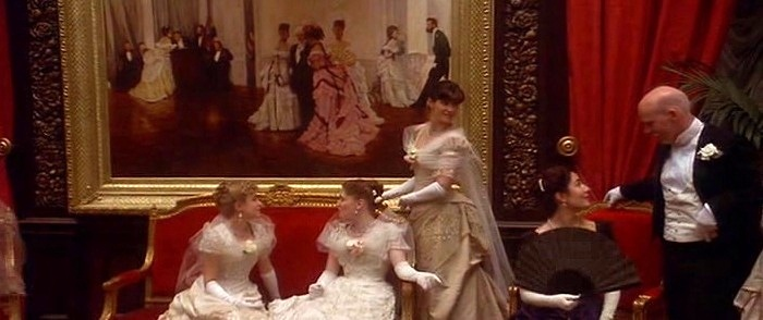 Too Early painting by James Tissot in The Age of Innocence movie