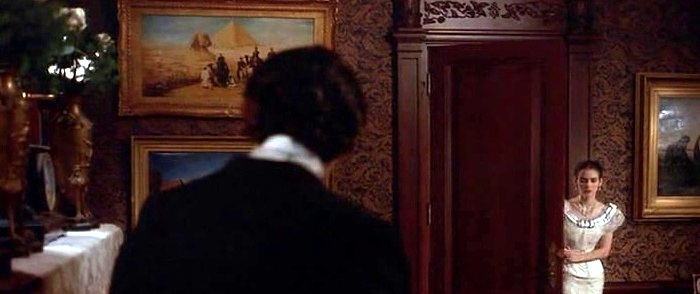 Sphinks painting by Franz Rohrbeck in The Age of Innocence movie