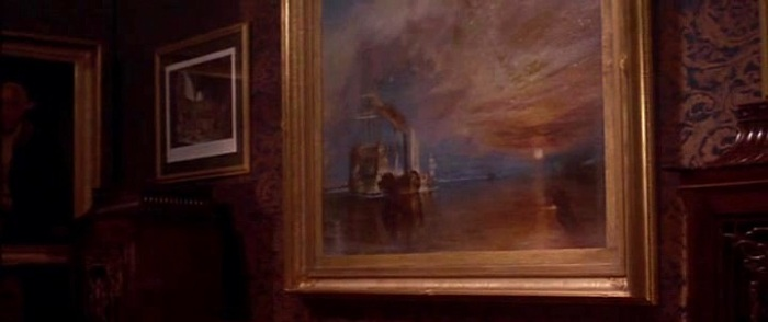 The Fighting Temeraire painting by William Turner in The Age of Innocence movie
