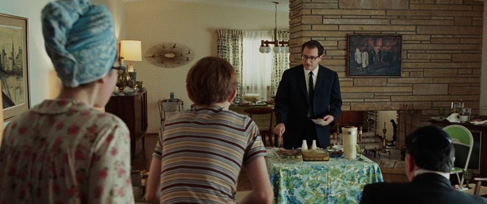 Kadosh Ha Kotel painting by Michele Goren in Serious man movie