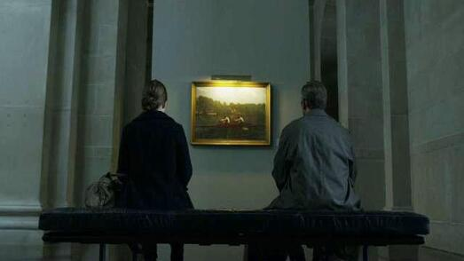 The Biglin Brothers Racing painting by Thomas Eakins  in House of Cards movie