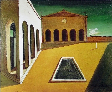 Delights of the Poet painting by Giorgio de Chirico in Entrapment movie